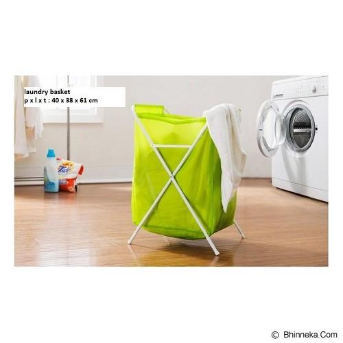 MONKIZZ Ijos Keranjang Laundry/Pakaian - Keranjang Baju / Laundry Bin