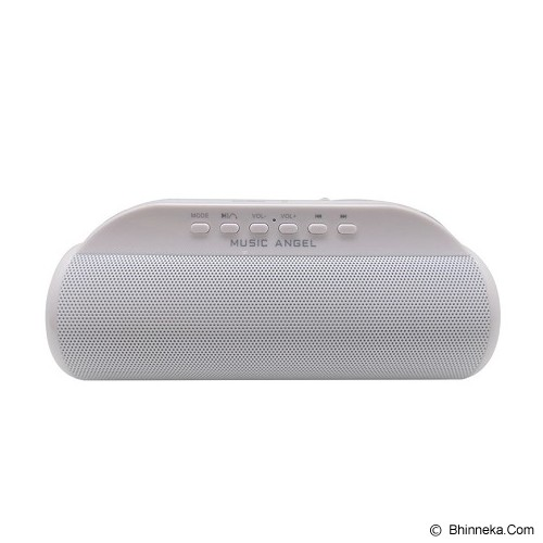 MUSIC ANGEL Speaker Bluetooth [JH-MD13BT] - White - Speaker Bluetooth & Wireless