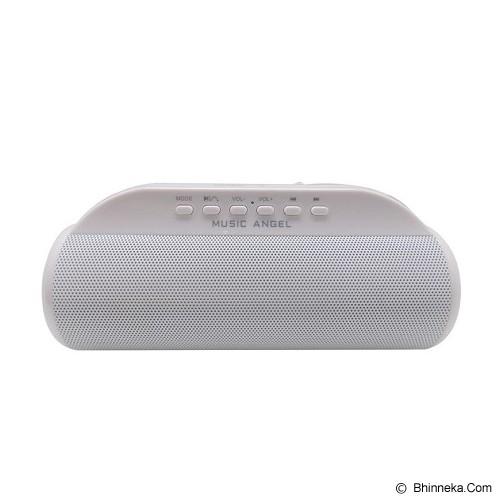 MUSIC ANGEL Speaker Bluetooth [JH-MD13BT] - White - Speaker Bluetooth & Wireless