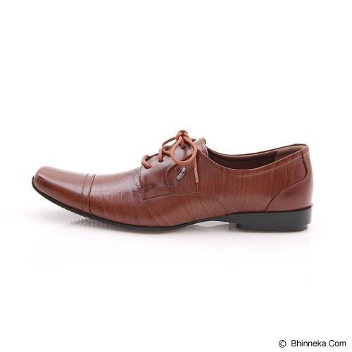 LEOGAREN Sepatu Size 42 [1111] - Brown - Sepatu Kerja Formal Pria