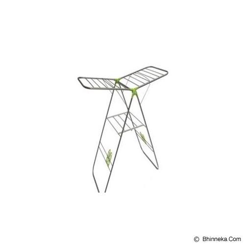 PASTEL ASIA Korean Jemuran Baju Laundry Rack Musim Hujan Kering [C-500] - Green - Jemuran