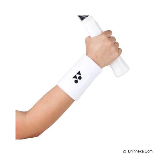 YONEX Wristband Tennis Long - White - Pelindung Pergelangan Tangan / Wrist Support