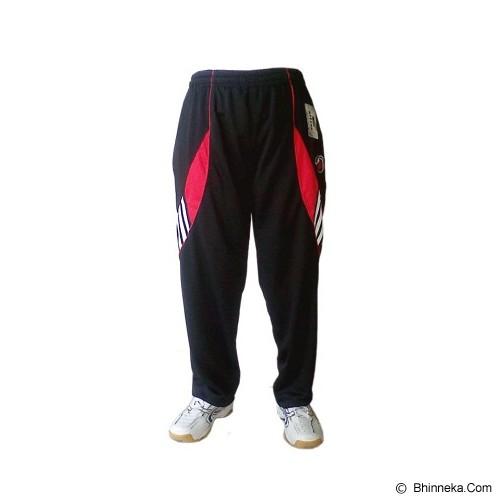 ALFINA Celana Panjang Training Size L - Black Red - Celana Olahraga Pria