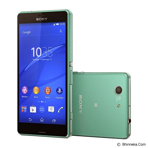 SONY Xperia Z3 Compact - Green - Smart Phone Android