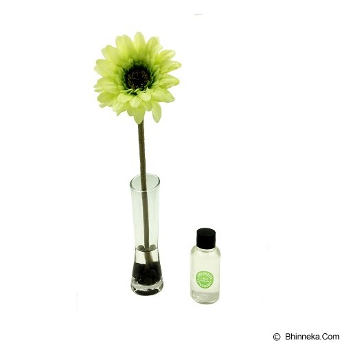 TAKI Reed Diffuser 50ml with Daisy Glass [AR-32] - Lemon Grass - Aromatherapy / Lilin Terapi