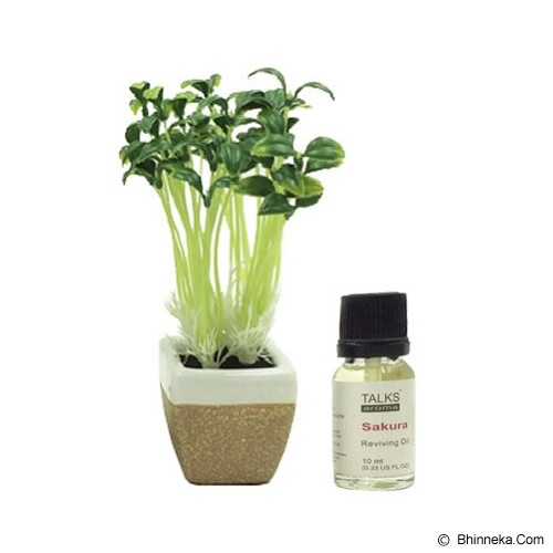 TAKI Mini Pot Diffuser 10ml with Oil Bean Sprout [AR-42A] - Sakura - Aromatherapy / Lilin Terapi