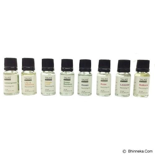 TAKI Mini Pot Diffuser 10ml with Oil Wheat [AR-42B] - Ginger Lime - Aromatherapy / Lilin Terapi