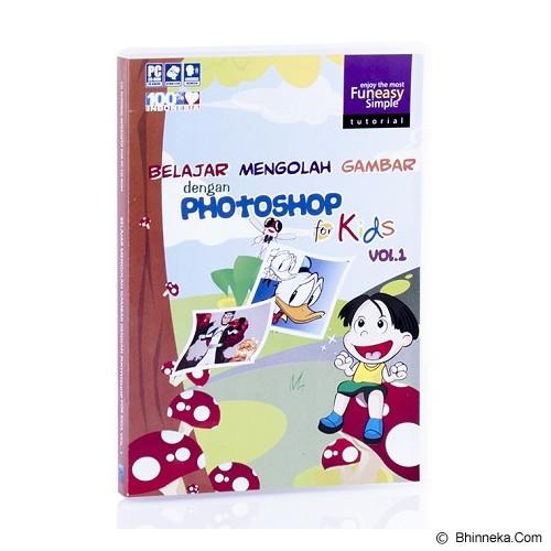 TOKOEDUKASI CD Tutorial Adobe Photoshop CS4 for Kids vol.1 - Buku Komputer & Teknologi