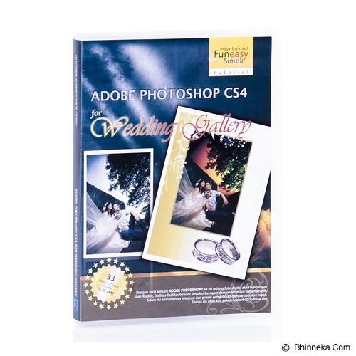 TOKOEDUKASI CD Tutorial Adobe Photoshop CS4 for Wedding - Buku Komputer & Teknologi