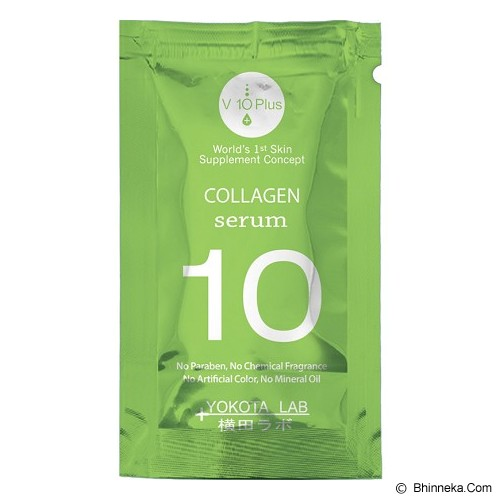 V10 PLUS Collagen Serum Sachet - Serum Wajah