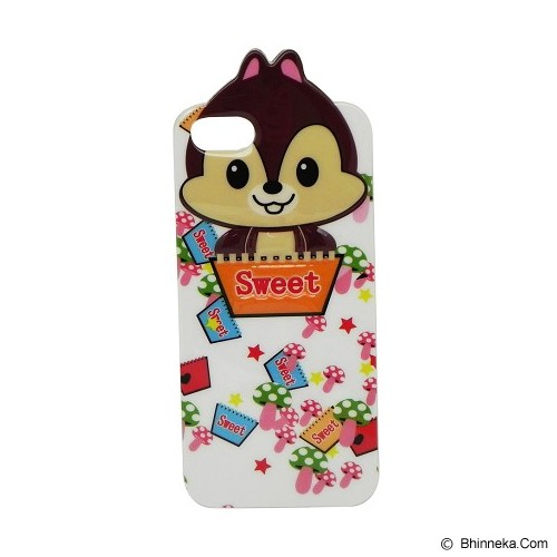 EXCELLENCE Case Soft Timbul Motif Disney 1 for iPhone 5G [ABCAIP5GSTMD] - Casing Handphone / Case