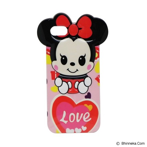 EXCELLENCE Case Soft Timbul Motif Disney 3 for iPhone 5G [ABCAIP5GSTMD] - Casing Handphone / Case