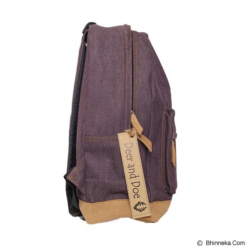 DEER AND DOE Denim Bag - Dry Darken Violet - Tas Punggung Sport / Backpack