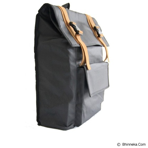 DEER AND DOE Denim Bag - Big Carbonic Black - Tas Punggung Sport / Backpack