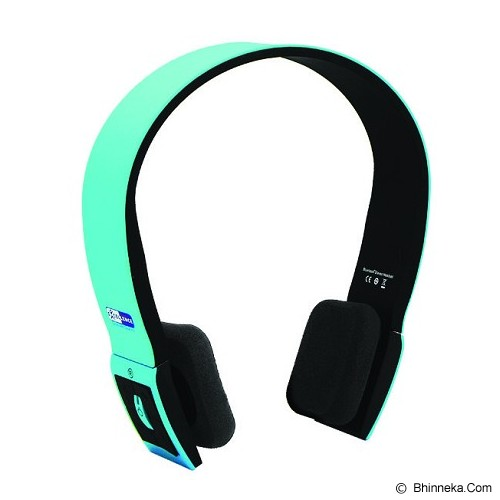 EXCELLENCE Handsfree Bluetooth SW1 [AHFBTSW1E] - Blue - Headset Bluetooth