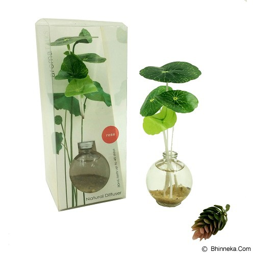 TAKI Reed Diffuser 30ml with Water Lily [AR-52] - Green Bamboo - Aromatherapy / Lilin Terapi