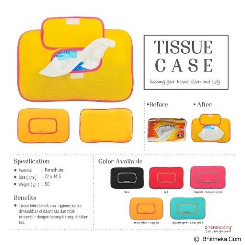 D'RENBELLONY Tissue Case - Yellow - Tempat Tissue