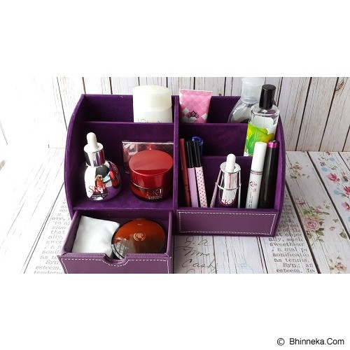 ORIGINAL ORGANIZER Desktop Stationery Organizer - Purple - Rak Serbaguna