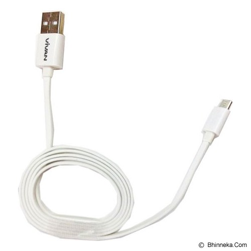VIVAN Cable Micro USB 1M - White - Cable / Connector Usb