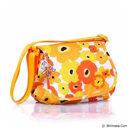 OKIEDOG Genie Flower Power [28327] - Yellow - Diapers Bag / Tas Popok