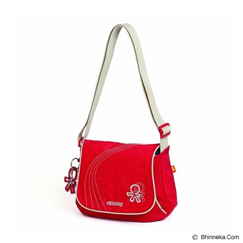 OKIEDOG Genie Urban [24300] - Red - Diapers Bag / Tas Popok