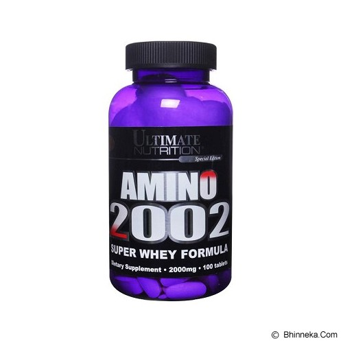 ULTIMATE NUTRITION Amino 2002 100 Tablets - Suplement Penambah Daya Tahan Tubuh