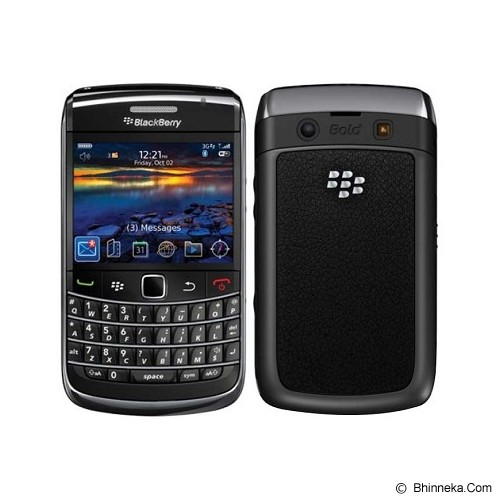 BLACKBERRY 9780 Onyx II - Black (Merchant) - Smart Phone Blackberry