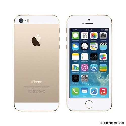 APPLE iPhone 5S 16GB (Garansi Merchant) - White - Smart Phone Apple iPhone
