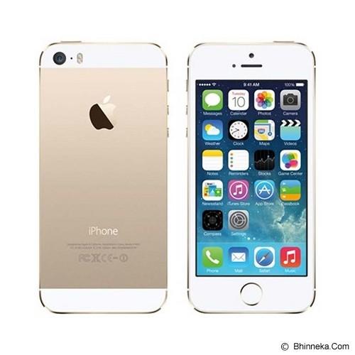 APPLE iPhone 5S 16GB (Garansi Merchant) - White - Smart Phone Apple Iphone