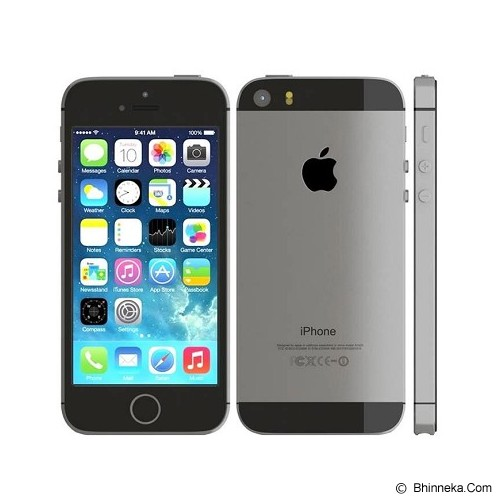APPLE iPhone 5S 32GB (Garansi Merchant) - Black - Smart Phone Apple Iphone