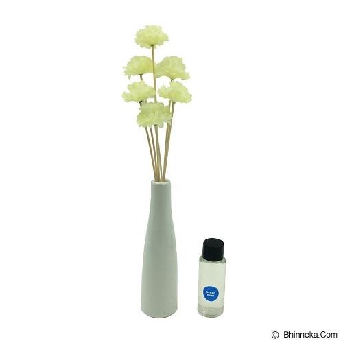 TAKI Flower Ceramic Diffuser 30ml [FL-03] - Ocean Mist - Aromatherapy / Lilin Terapi