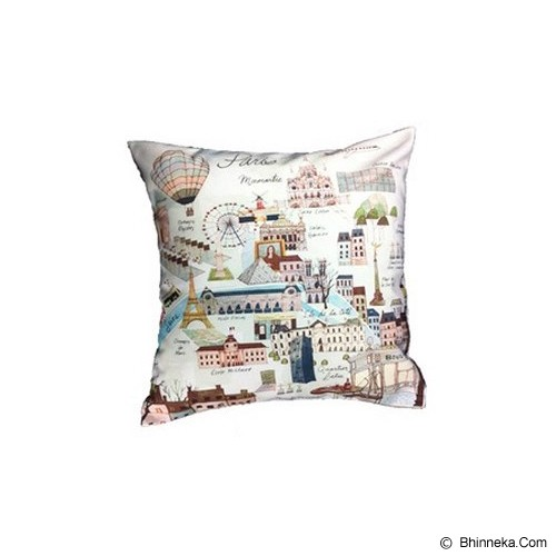 HERMOSA Bantal Sofa Paris Country - Bantal Dekorasi