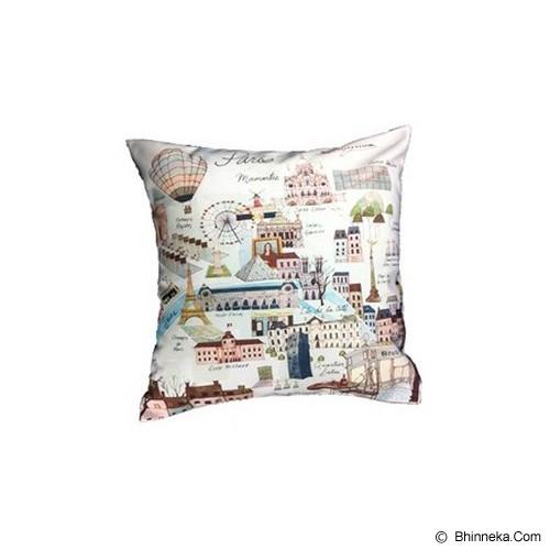 HERMOSA Bantal Sofa Paris Country - Bantal Dekorasi