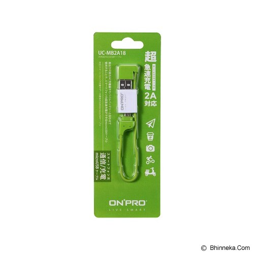 ON PRO Micro USB to USB 2.0 Cable - Green - Cable / Connector Usb