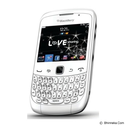 BLACKBERRY Curve 9330 CDMA - White (Merchant) - Smart Phone Blackberry