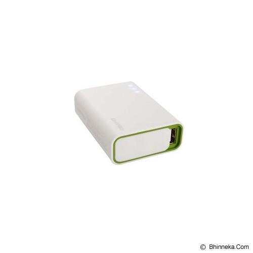 ON PRO Powerbank 6000mAh [MB-Q6] - White Green - Portable Charger / Power Bank