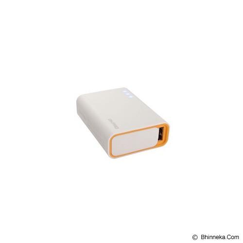 ON PRO Powerbank 6000mAh [MB-Q6] - White Orange - Portable Charger / Power Bank