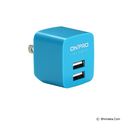 ON PRO USB Charger - BLue - Charger Handphone