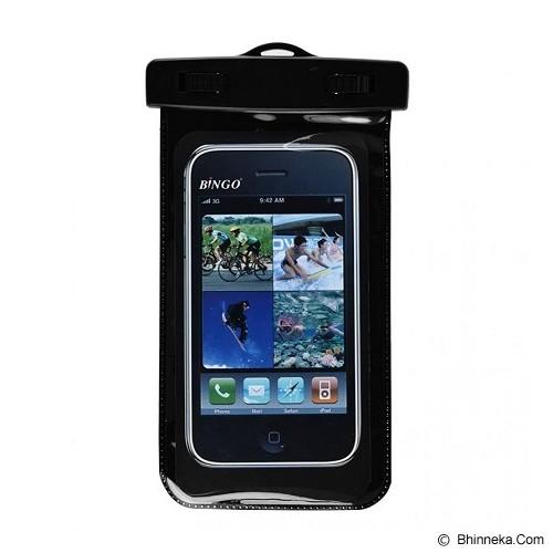 BINGO Waterproof Bag [WP06-128] - Black - Plastik Handphone / Waterproof