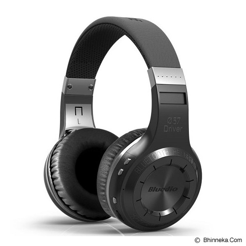 BLUEDIO Headphone H+ TURBINE - Black (Merchant) - Headset Bluetooth