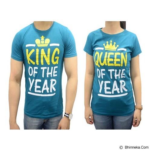 DOO FU Couple T-Shirt King Queen - Tosca (V) - Kaos Wanita