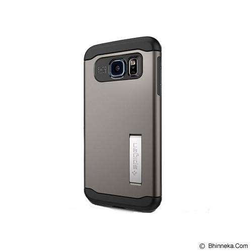 SPIGEN Samsung Galaxy S6 Case Slim Armor [SGP11330] - Gunmetal - Casing Handphone / Case