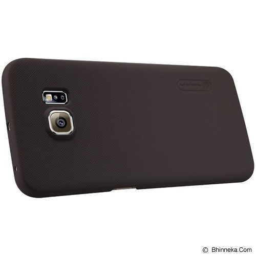 NILLKIN Frosted Shield for Galaxy S6 Edge [6721501669]  - Brown - Casing Handphone / Case