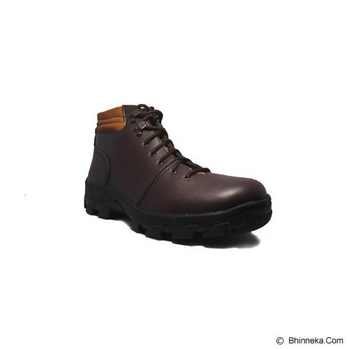 D-ISLAND Shoes Boots Trekking Fireproof Size 42 [Island Shoes 08 Fireproof] - Dark Brown - Casual Boots Pria