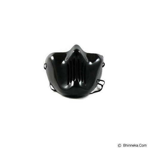 ROTAMART Masker Motor 3 Dimensi - Skull Flat Hitam - Masker Motor