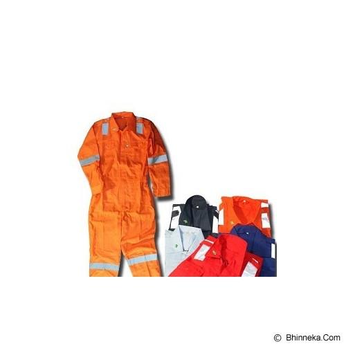 SAFE-T Werpak Drill Reflective Coverall - Pakaian Pengaman