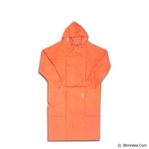 SAFE-T Jas Hujan Raincoat Polos - Orange - Jas Hujan