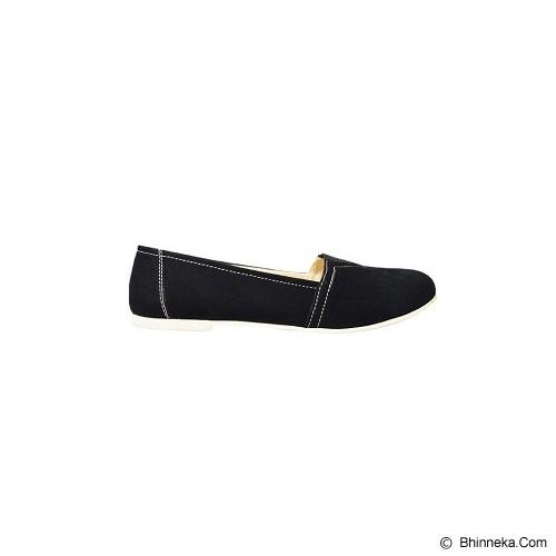 VEGA SHOES Cossy Size 38 - Black - Flats Wanita