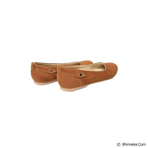VEGA SHOES Friendly Size 37 - Brown - Flats Wanita