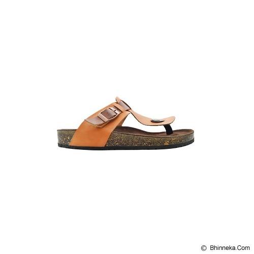 VEGA SLIPPERS Sandal For Women Size 38 - Tan - Slippers Wanita